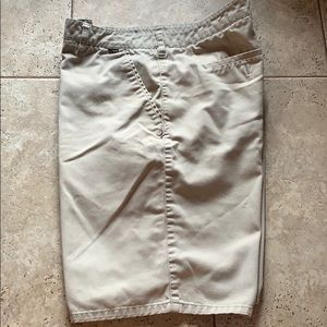 Hurley men's khaki shorts size 36